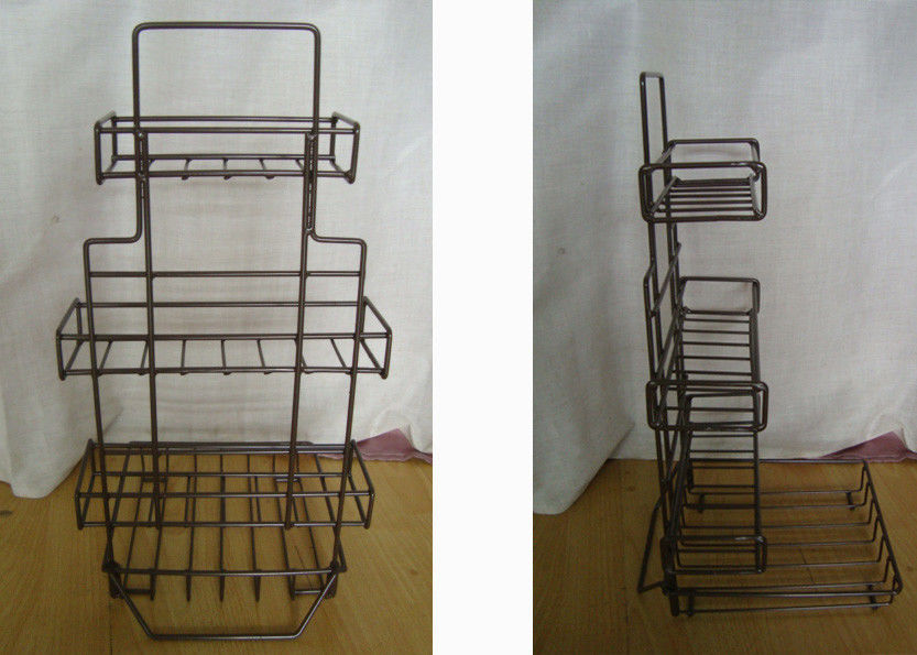 8 Tea Boxes Metal Food Display Stands Wire Basket Display Rack For Tea Package